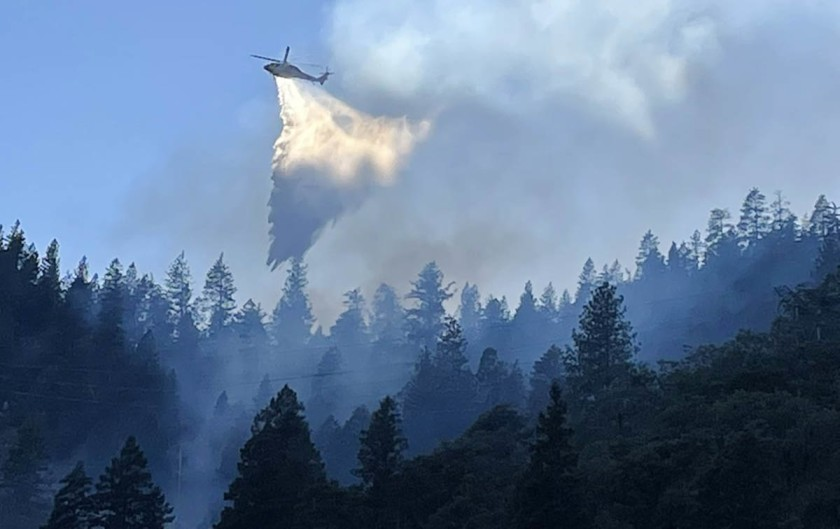 PG&E says its equipment may have sparked Dixie fire
