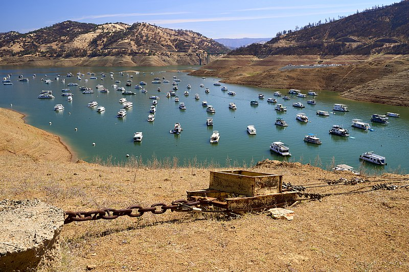 California Drought Forces shutdown of historic Hyatt Hydroelectric Station