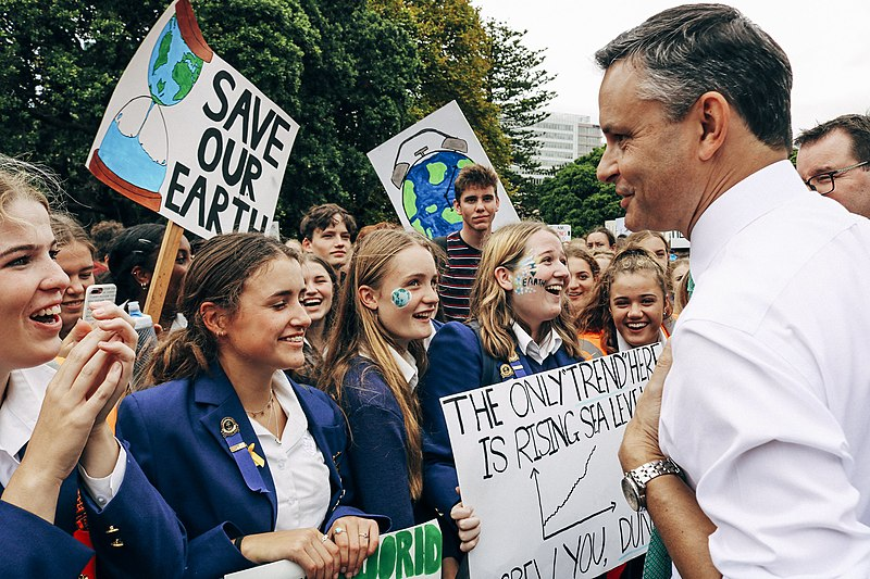 James Shaw wants climate talks delivers results